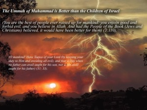 Muhammad is Better than the Children of Israel